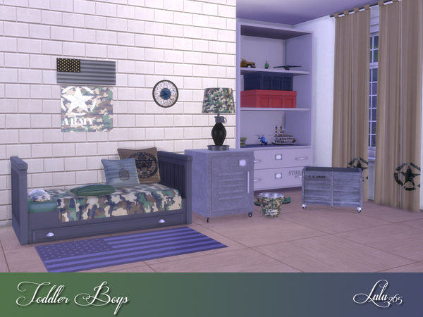 Toddler Boys Bedroom by Lulu265 at TSR image 5217 Sims 4 Updates