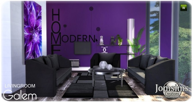 Galem living room at Jomsims Creations image 524 670x355 Sims 4 Updates