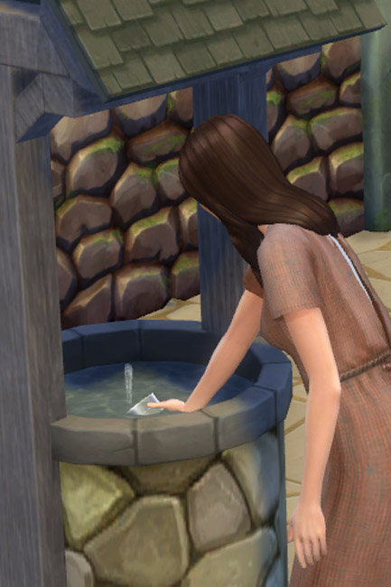 Fountain sink by Mammut at Blacky's Sims Zoo image 527 Sims 4 Updates