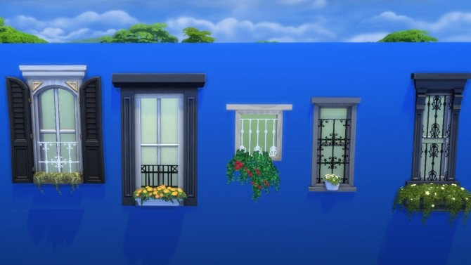 Sims 4 Max Window Guards by Snowhaze at Mod The Sims