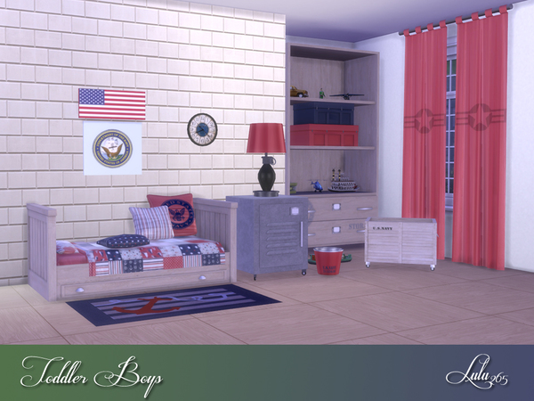 Toddler Boys Bedroom by Lulu265 at TSR image 5316 Sims 4 Updates