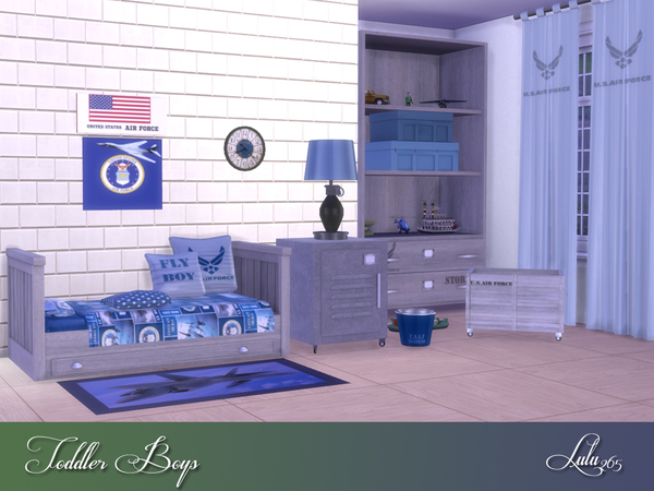 Toddler Boys Bedroom by Lulu265 at TSR image 5416 Sims 4 Updates
