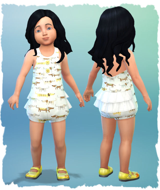 Little girl outfits by Chalipo at All 4 Sims image 5514 Sims 4 Updates