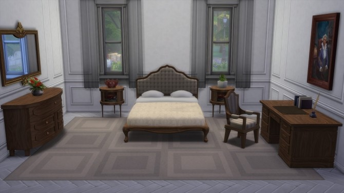 Federal Bedroom from TS3 by TheJim07 at Mod The Sims image 559 670x377 Sims 4 Updates
