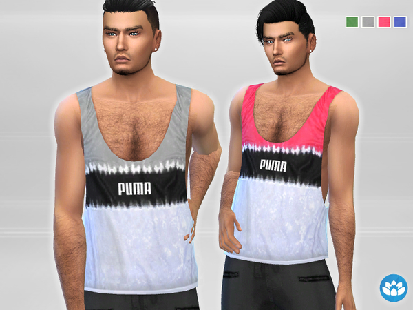 Athletic Tank Top by Puresim at TSR image 5610 Sims 4 Updates