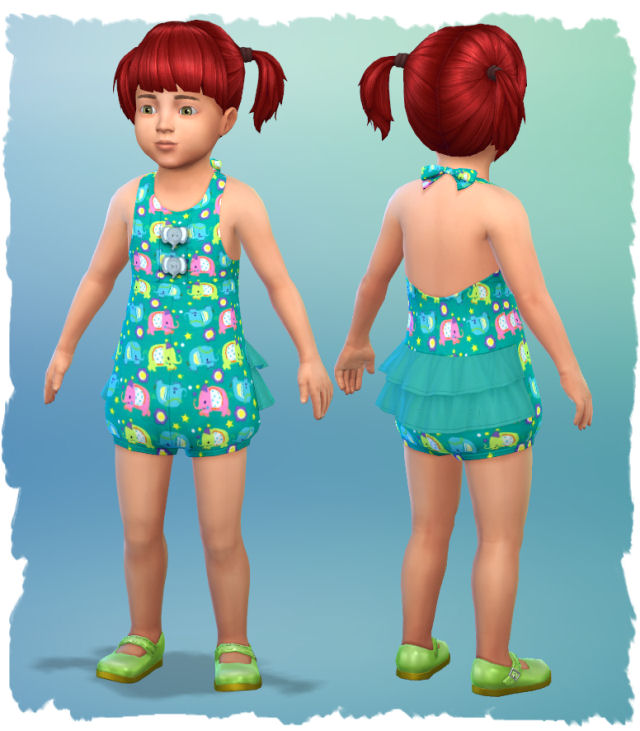 Little girl outfits by Chalipo at All 4 Sims image 5614 Sims 4 Updates