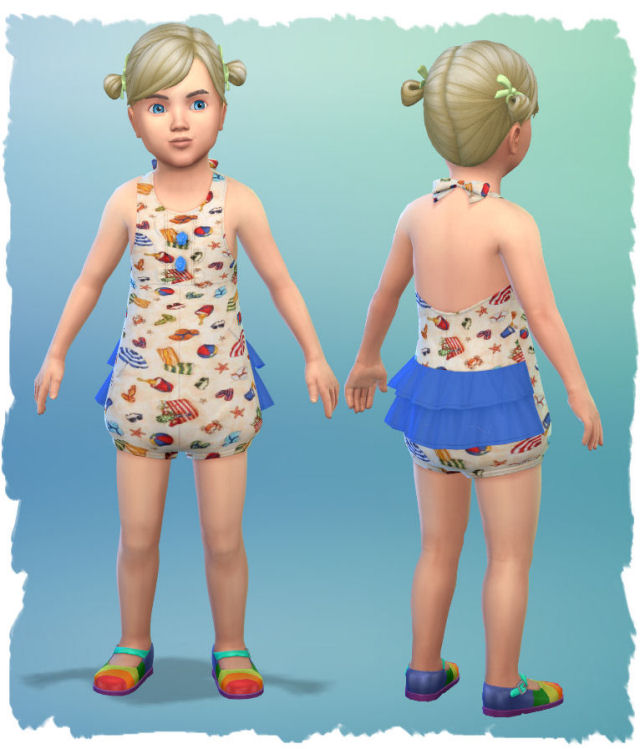 Little girl outfits by Chalipo at All 4 Sims image 5714 Sims 4 Updates