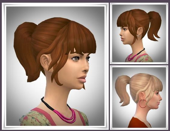 SweetSixteen Ponytail at Birksches Sims Blog image 576 Sims 4 Updates
