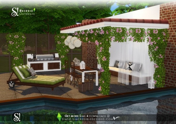 Recreio outdoor set at SIMcredible! Designs 4 image 5811 670x474 Sims 4 Updates