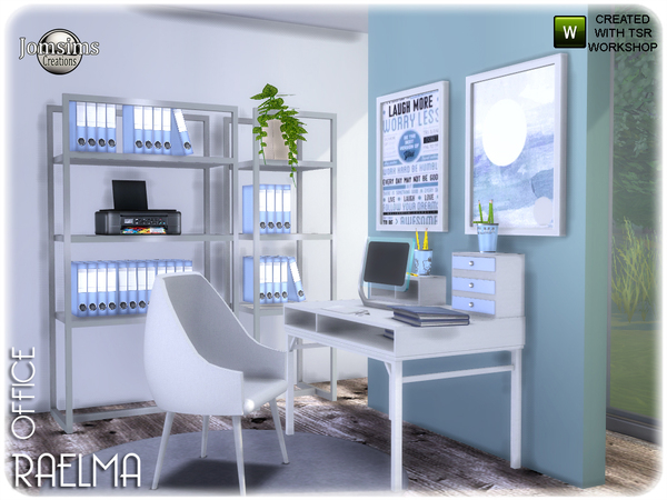 Raelma office by jomsims at TSR image 5916 Sims 4 Updates