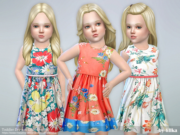 Toddler Dresses Collection P60 by lillka at TSR image 595 Sims 4 Updates