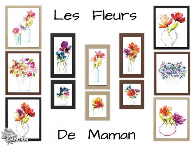 Sims 4 Les Fleurs De Maman by Chanchan24 at Sims Artists