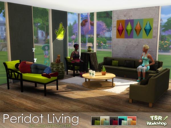 Peridot Living Room by sim man123 at TSR image 6019 Sims 4 Updates