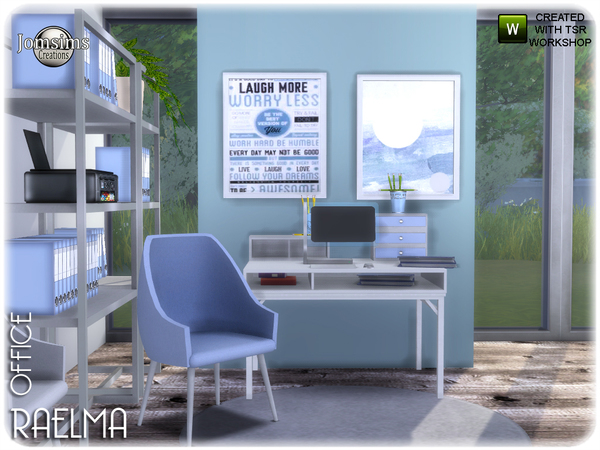 Raelma office by jomsims at TSR image 6122 Sims 4 Updates