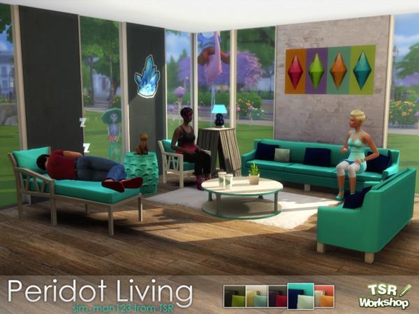 Peridot Living Room by sim man123 at TSR image 6124 Sims 4 Updates