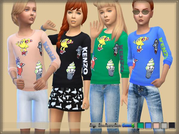 Sims 4 Sweater F/M by bukovka at TSR