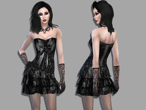 Lolita dress by Simalicious at TSR image 630 Sims 4 Updates