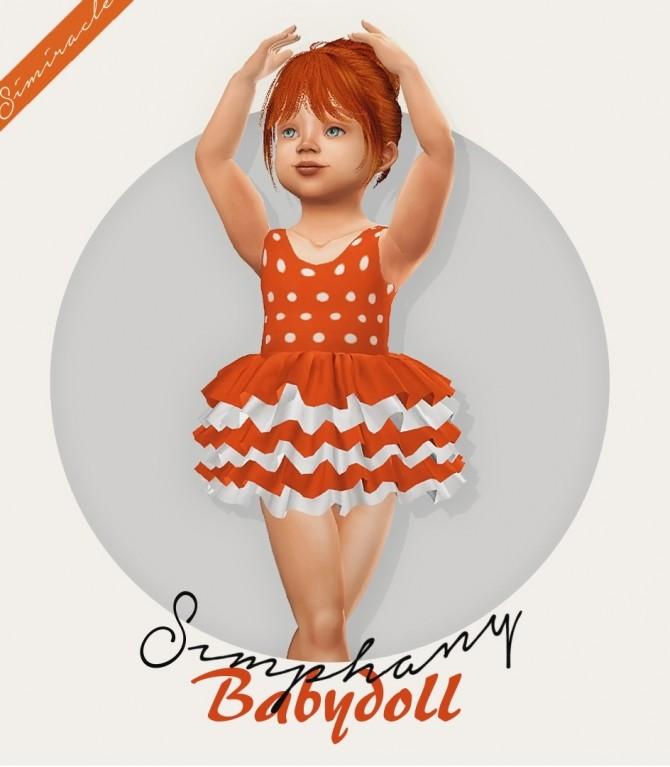 Sims 4 Simphany Babydoll Recolor at Simiracle