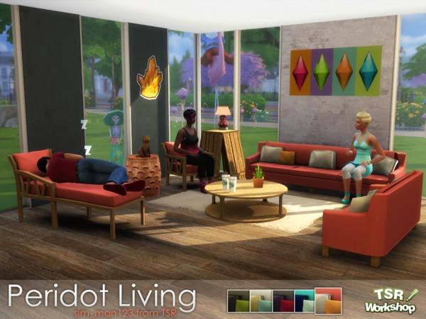 Peridot Living Room by sim man123 at TSR image 6319 Sims 4 Updates