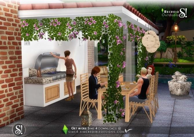 Recreio outdoor set at SIMcredible! Designs 4 image 6412 670x474 Sims 4 Updates
