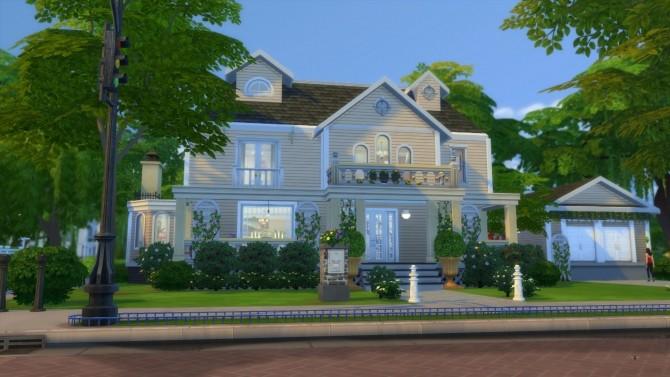 Sims 4 4349 Wisteria Lane CC Free by LianZiemas at Mod The Sims
