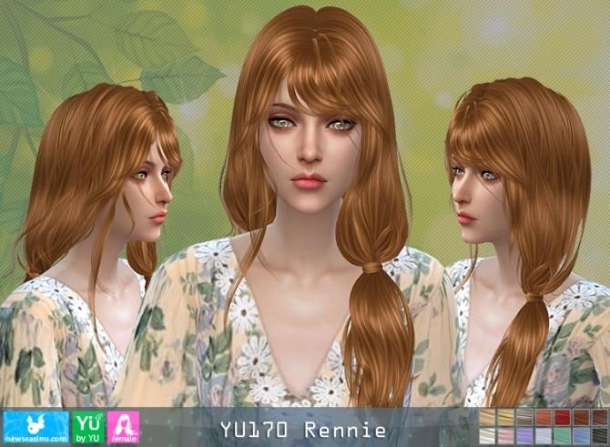 YU170 Rennie hair (P) at Newsea Sims 4 image 642 670x491 Sims 4 Updates