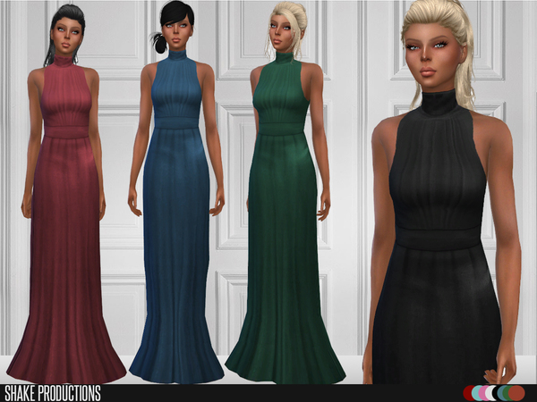 Long Dresses by ShakeProductions at TSR image 6510 Sims 4 Updates