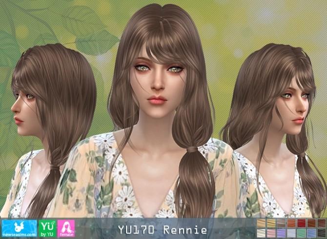YU170 Rennie hair (P) at Newsea Sims 4 image 652 670x491 Sims 4 Updates