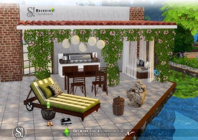Recreio outdoor set at SIMcredible! Designs 4 image 6611 670x474 Sims 4 Updates