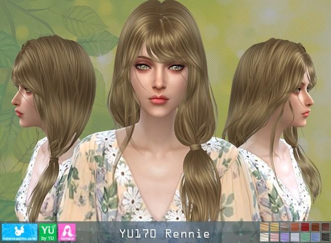 YU170 Rennie hair (P) at Newsea Sims 4 image 662 670x491 Sims 4 Updates