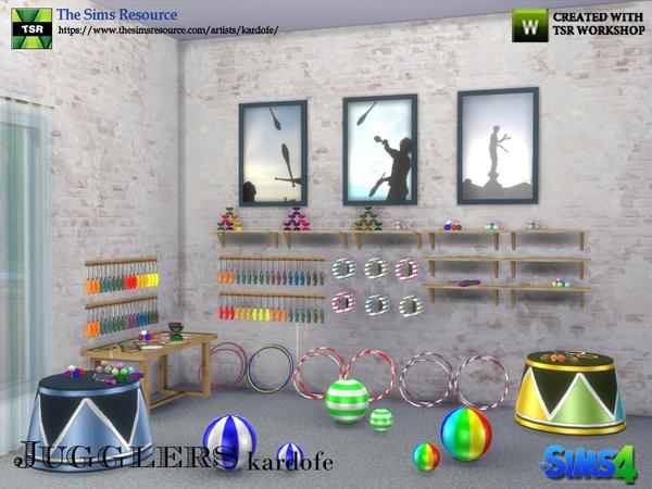 Jugglers set by kardofe at TSR image 669 Sims 4 Updates