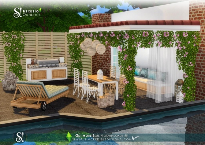 Set sims 4 updates best ts4 cc downloads for Sims 4 exterior design