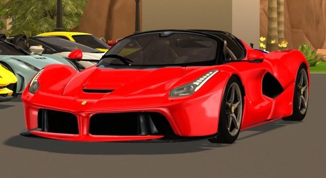 2017 Ferrari LaFerrari Aperta at Tyler Winston Cars image 676 670x365 Sims 4 Updates