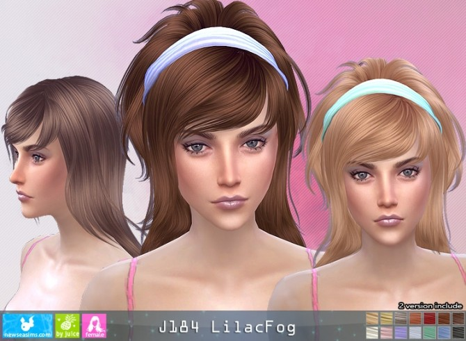J184 LilacFog hair (P) at Newsea Sims 4 image 677 670x491 Sims 4 Updates