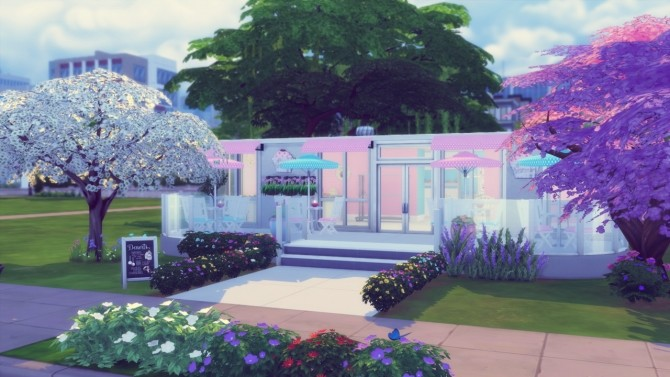 Pastry Shop at Simming With Mary image 6810 670x377 Sims 4 Updates