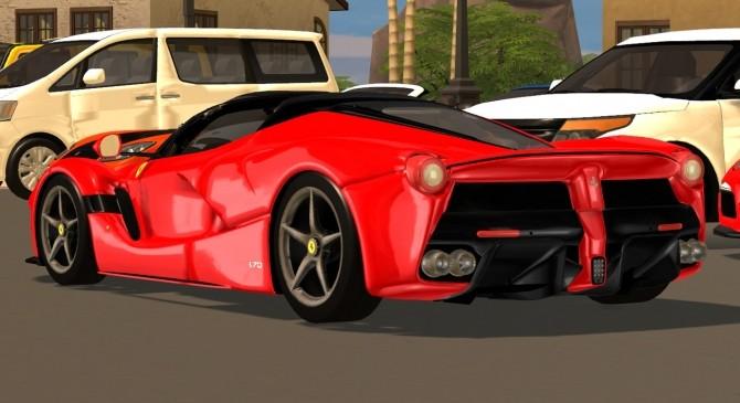 Sims 4 2017 Ferrari LaFerrari Aperta at Tyler Winston Cars