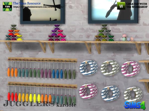 Jugglers set by kardofe at TSR image 689 Sims 4 Updates