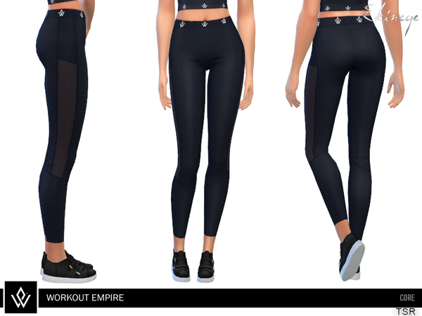 Sims 4 Core Low Waisted Tights by ekinege at TSR