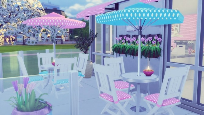 Pastry Shop at Simming With Mary image 6910 670x377 Sims 4 Updates