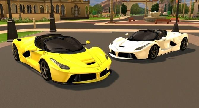 2017 Ferrari LaFerrari Aperta at Tyler Winston Cars image 696 670x365 Sims 4 Updates
