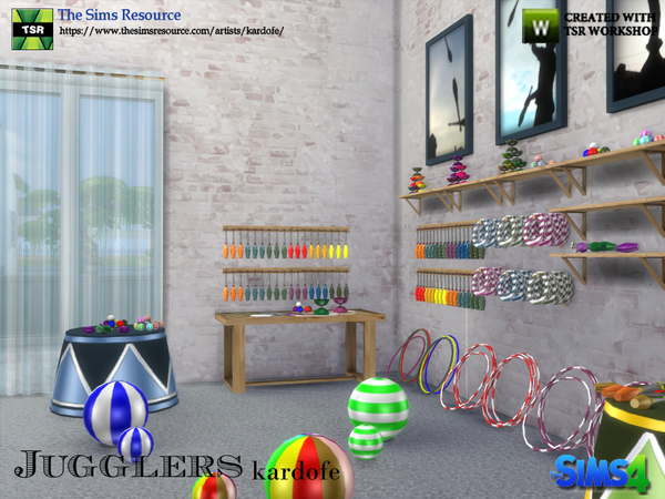 Jugglers set by kardofe at TSR image 699 Sims 4 Updates