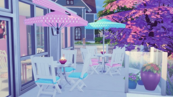 Pastry Shop at Simming With Mary image 7010 670x377 Sims 4 Updates