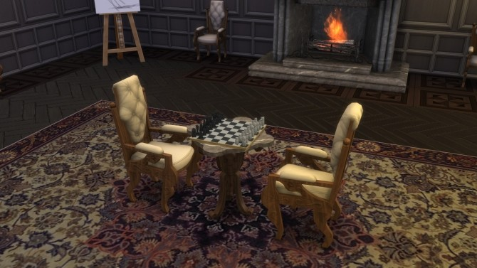 Antique Chess Table from TS3 by TheJim07 at Mod The Sims image 708 670x377 Sims 4 Updates