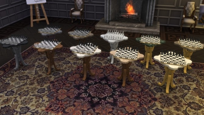 Antique Chess Table from TS3 by TheJim07 at Mod The Sims image 7113 670x377 Sims 4 Updates