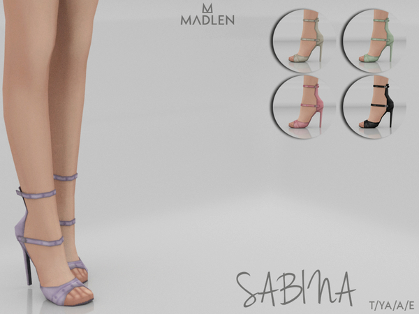 Madlen Sabina Shoes by MJ95 at TSR image 7114 Sims 4 Updates