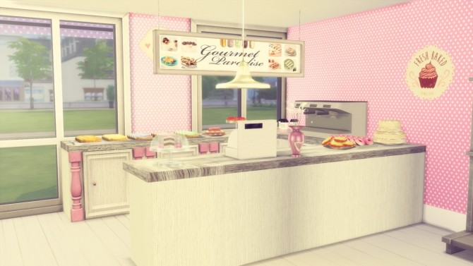 Pastry Shop at Simming With Mary image 7115 670x377 Sims 4 Updates