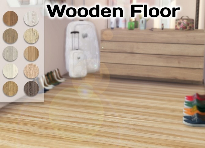 Sims 4 Wooden Floor at Simming With Mary