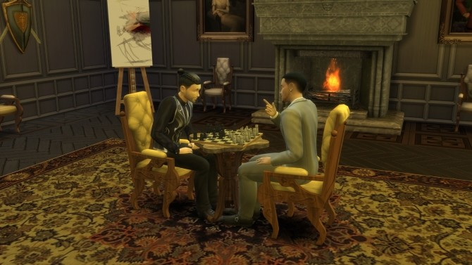 Antique Chess Table from TS3 by TheJim07 at Mod The Sims image 7210 670x377 Sims 4 Updates