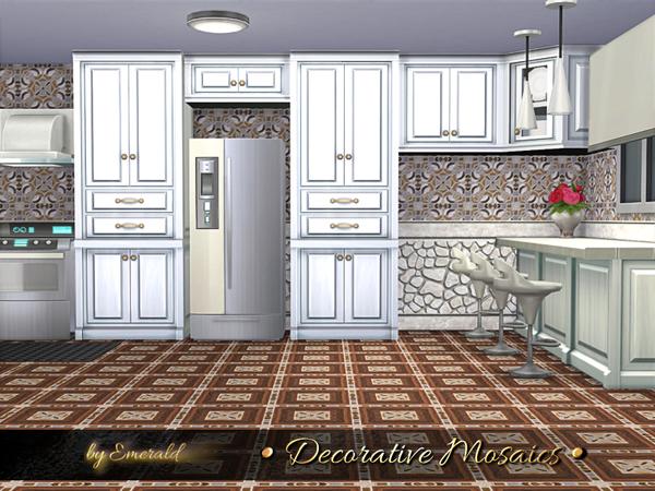 Decorative Mosaics by emerald at TSR image 726 Sims 4 Updates