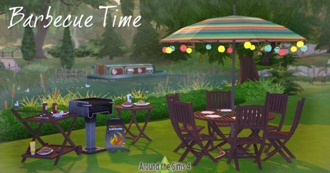 BBQ Time set at Around the Sims 4 image 747 670x352 Sims 4 Updates